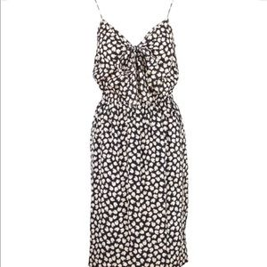 DKNY Apple Print Strappy Dress Small